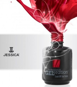 Jessica Geleration gel nails Synergy Hair and Beauty Studley