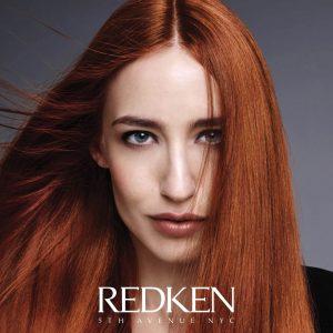 Redken hair colour at synergy hair salon studley