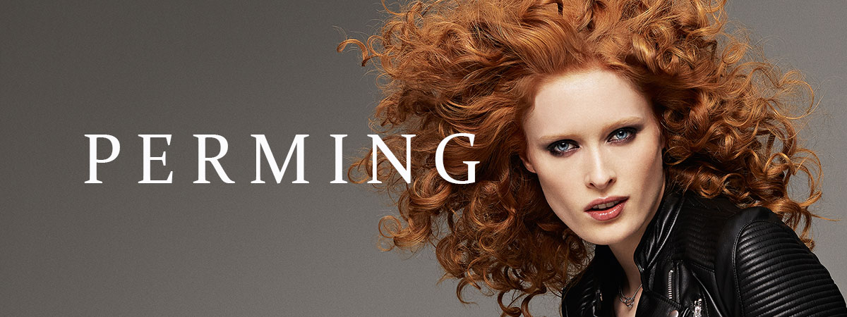 perming-at Synergy hair & beauty salon