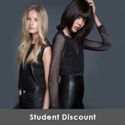 Student Discounts on Hairdressing & Beauty