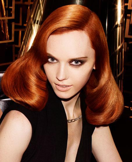 copper read hair