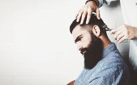 The Gents' Fade Cut Hair Trend
