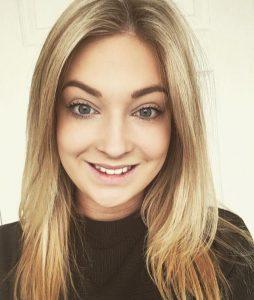 new team memeber Anna at Synergy hair & beauty salon in Studley