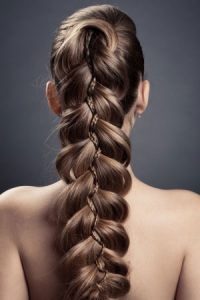 plaited hair ideas at Synergy hair salon
