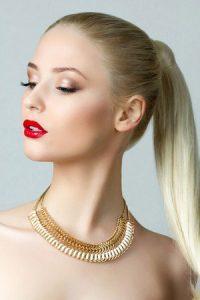 ponytail hair ideas at Synergy hair salon