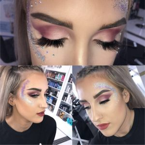 Festival-Hairstyles& make-up at synergy hair and beauty salon studley Warwickshire,