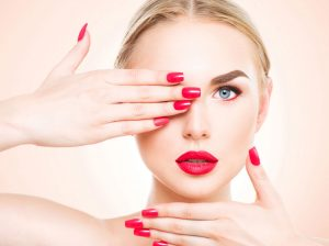nail services at synergy beauty salon studley