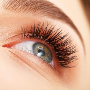 Lash Tinting at synergy beauty salon in studley