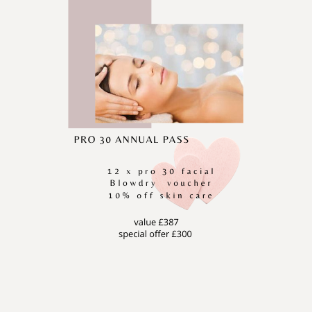 pro 30 annual pass at Synergy hair and beauty in Redditch